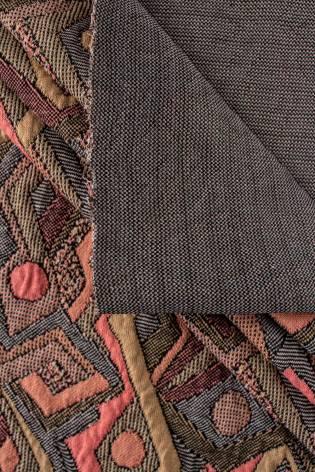 Knit - Sweatshirt Jacquard/Quilted - A'la Patchwork - 155 cm - 320 g/m2 thumbnail