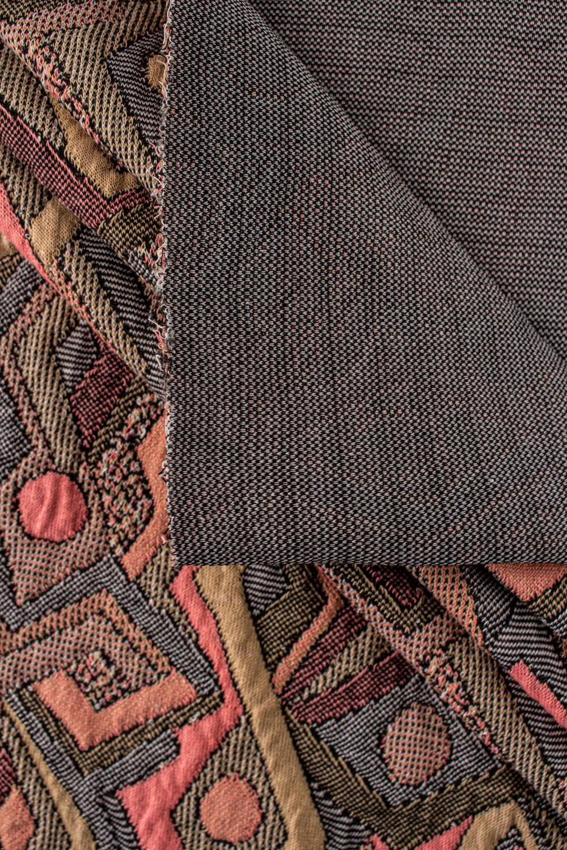 Dzianina żakardowa pikowana a'la patchwork - 155cm 320g/m2