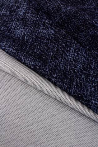 Dresówka pętelka a'la jeans granatowa - 185cm 240g/m2 thumbnail