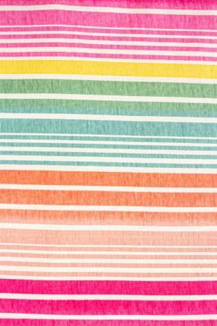 Knit - Jersey - Colourful Stripes - 150 cm - 180 g/m2 thumbnail