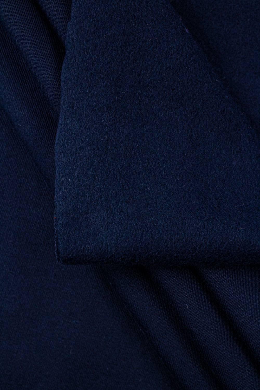 Dresówka drapana granatowa - 170cm 390g/m2