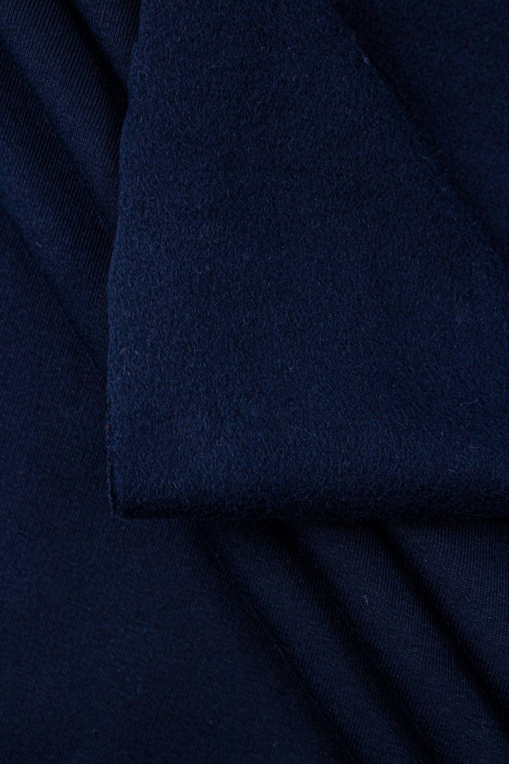 Knit - Sweatshirt Fleece - Navy Blue- 170 cm - 390 g/m2
