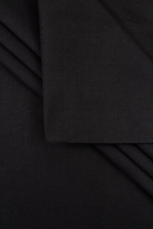Dzianina jersey czarny - 80cm / 160cm 300g/m2