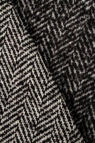 Tkanina płaszczowa jednostronnie szczotkowana w jodełkę - 145cm 420g/m2 thumbnail