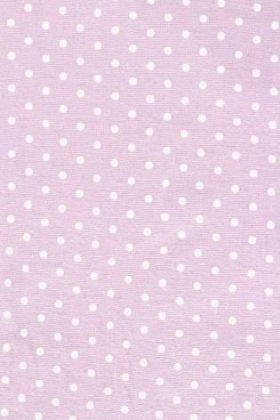 Knit - Viscose Jersey - Polka Dots On Lavender Colour - 185 cm - 180 g/m2 thumbnail