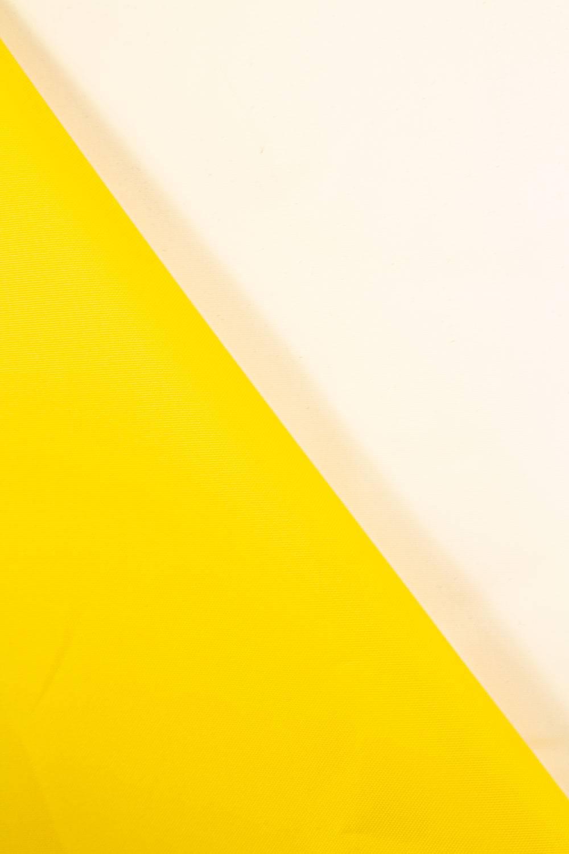 Tkanina ortalionowa wodoodporna żółta - 150cm 170g/m2