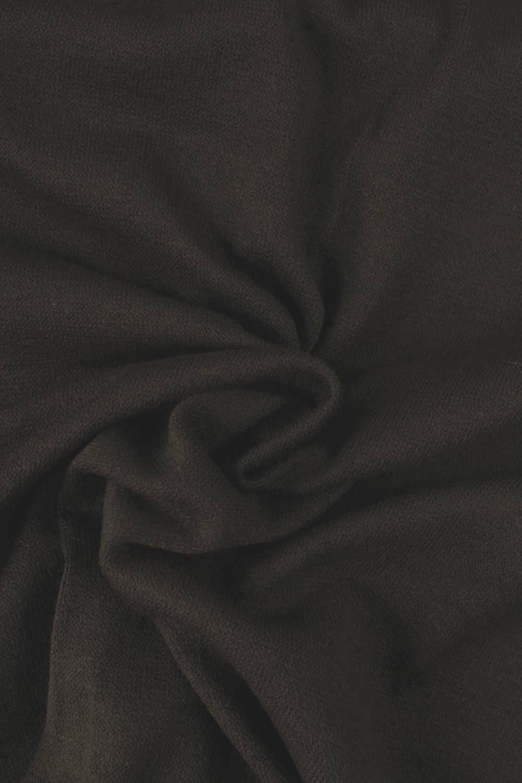 Dzianina sweterkowa brązowa KUPON 1,5 MB - 170 cm - 180 g
