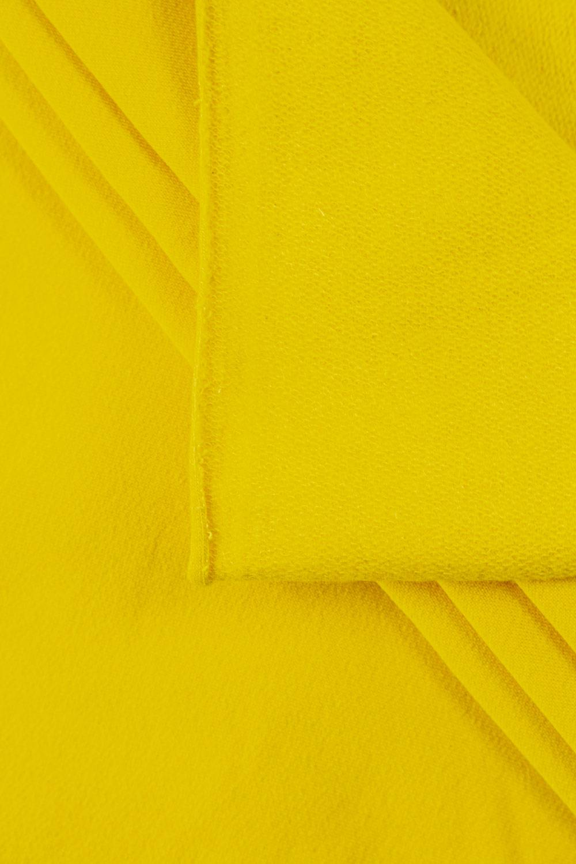 Dresówka lekko drapana żółta - 165cm 300g/m2