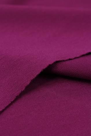 Dzianina punto włoskie purpurowe KUPON 1,5 MB - 155 cm - 250 g thumbnail