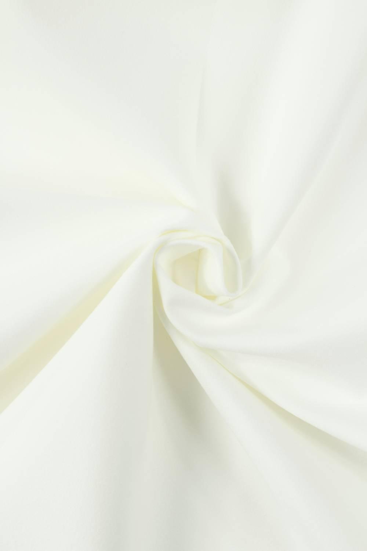 Tkanina zamszowa na piance biała KUPON 1,5 MB - 140 cm - 210 g