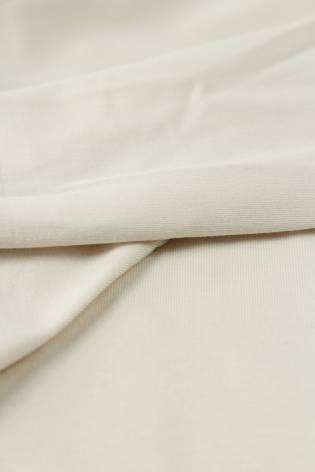 Dzianina jersey beżowy KUPON 1,5 MB - 165 cm - 150 g thumbnail