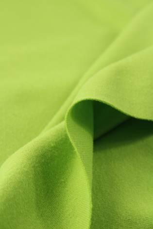 Dzianina interlock zielone jabłko KUPON 1,5 MB - 140 cm - 170 g thumbnail