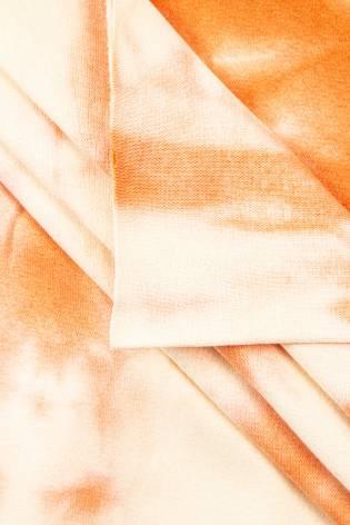 Ściągacz gładki batik pomarańczowy - 90cm/180cm 220g/m2 thumbnail