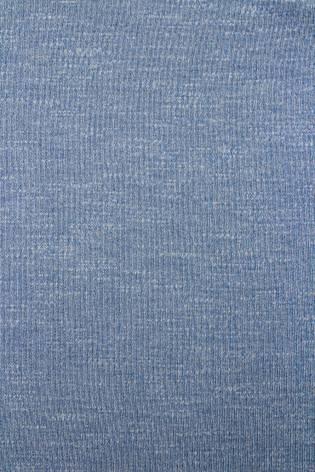 Dzianina dresowa pętelka - błękitny melanż - 180cm 220g/m2 thumbnail