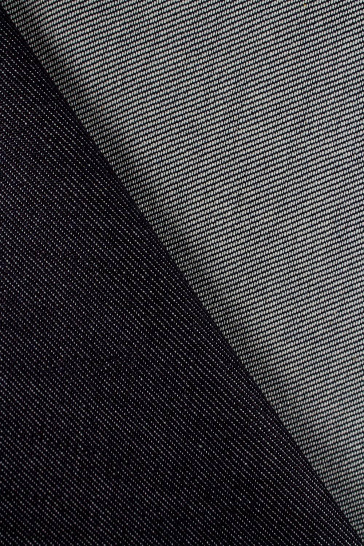 Tkanina jeansowa gruba ciemny granatowy  - 150cm 430g/m2