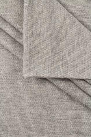 Dresówka pętelka szary melanż - 95cm/180cm 260g/m2 thumbnail
