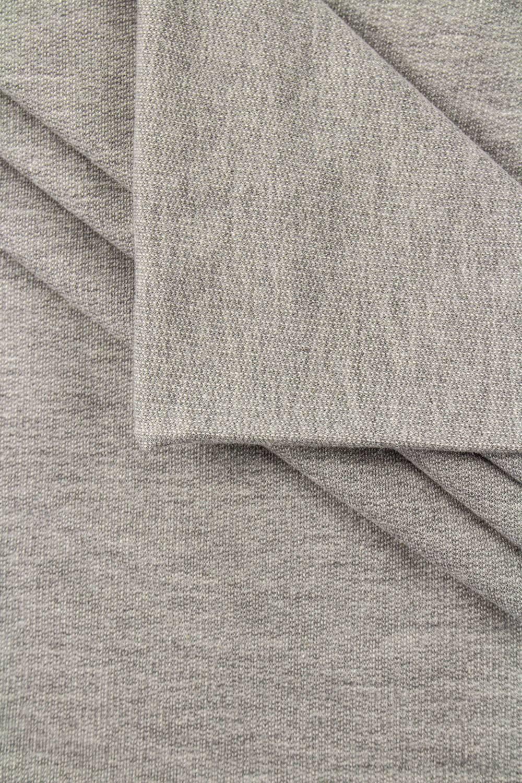 Dresówka pętelka szary melanż - 95cm/180cm 260g/m2