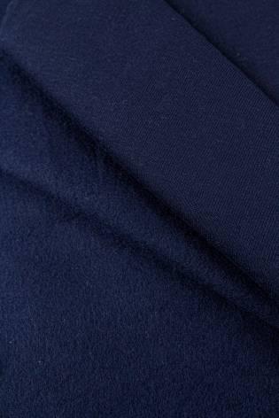 Dzianina dresowa drapana granatowa - 175cm 340g/m2 thumbnail