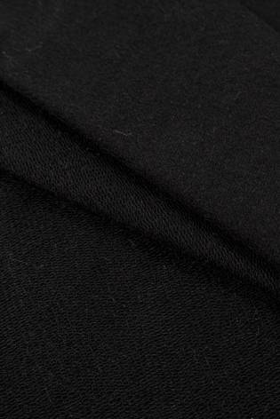 Dresówka pętelka skinpeach czarna - 170cm 360g/m2 thumbnail