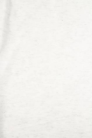 Dzianina jersey bawełniany śmietankowy melanż ze srebrną nitką - 175cm 140g/m2 thumbnail