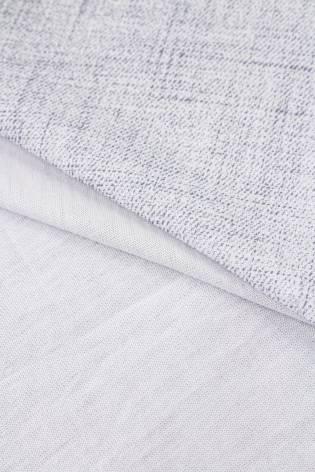 Dzianina jersey biały z nadrukiem a'la jeans - 170cm 160g/m2 thumbnail