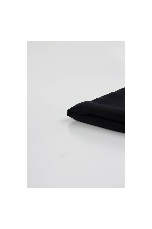 Tkanina imitacja wiskozy czarna - 150cm 120g/m2