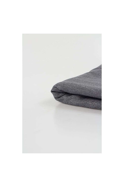 Dresówka pętelka szaro-biały melanż - 180cm 260g/m2