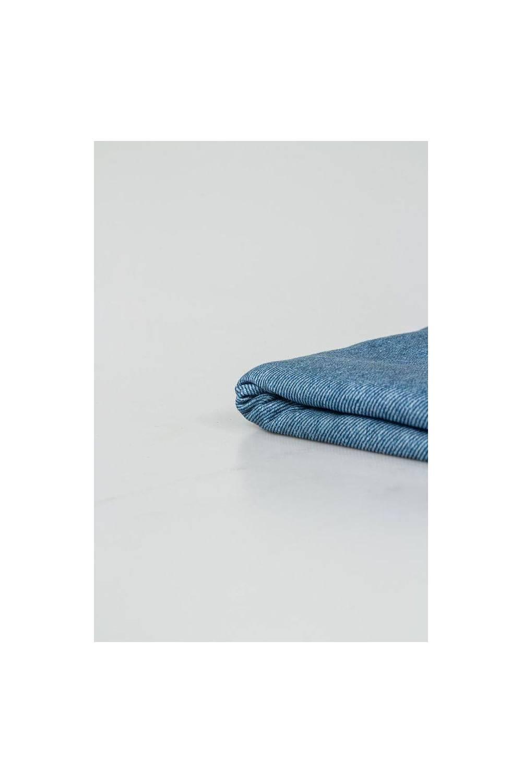 Dzianina jersey elanabawełna imitacja bawełny a'la jeans - 155cm 200g/m2