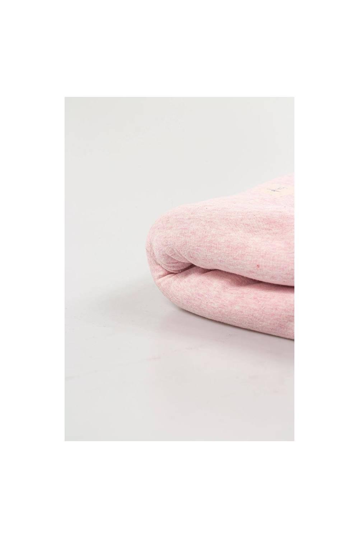 Dresówka pętelka różowy melanż - 185cm 310g/m2