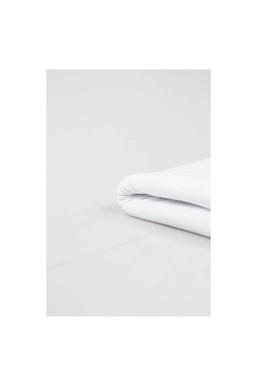 Ściągacz biały gładki - 80cm/160cm 310g/m2