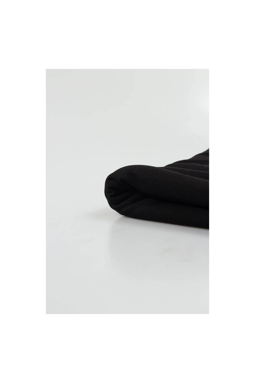 Dzianina punto czarne - 150cm 280g/m2