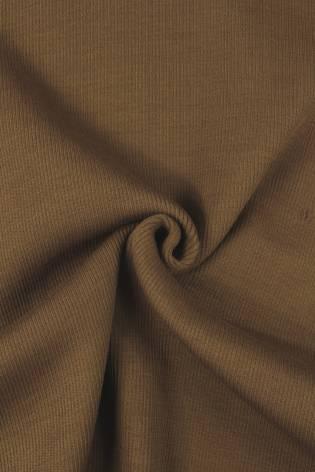 Ściągacz sweterkowy gruby mleczna czekolada KUPON 1,5 MB - 55/110 cm - 560 g thumbnail