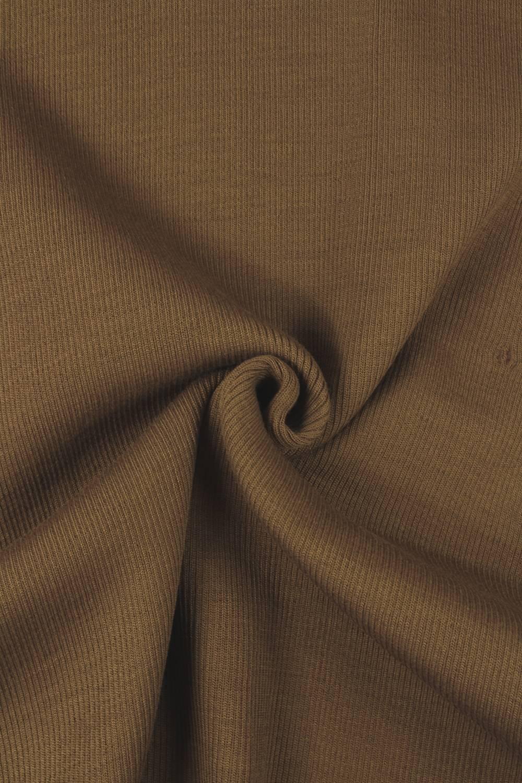 Ściągacz sweterkowy gruby mleczna czekolada KUPON 1,5 MB - 55/110 cm - 560 g