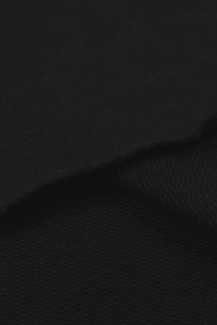Dresówka pętelka czarna KUPON 1,5 MB - 185 cm - 280 g thumbnail