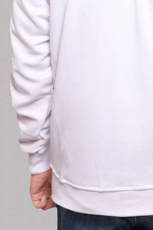 Ściągacz prążek - Biały - 50cm/100cm 400g/m2 thumbnail