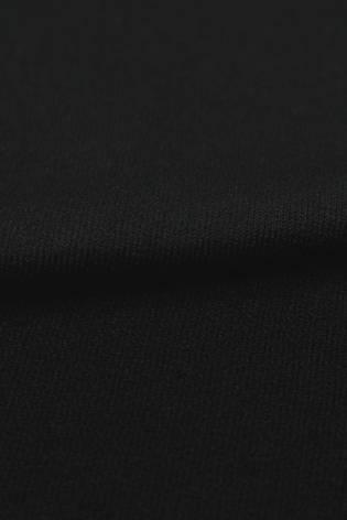 Dzianina frotte czarna KUPON 1,5 MB - 180 cm - 240 g thumbnail