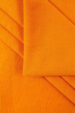 Dzianina jersey wiskozowy pomarańczowy - 160cm 230g/m2 thumbnail