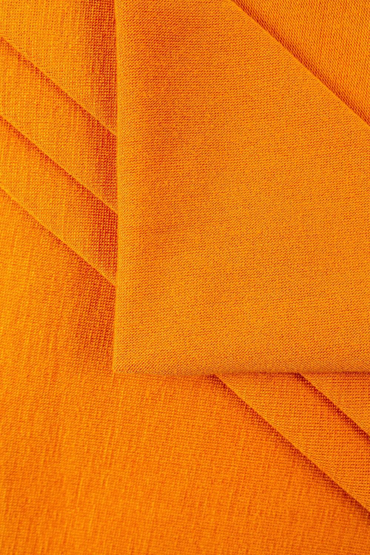 Dzianina jersey wiskozowy pomarańczowy - 160cm 230g/m2