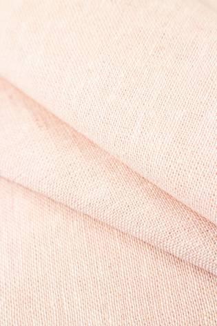 Tkanina lniana pudrowy róż - 145cm 220g/m2 thumbnail