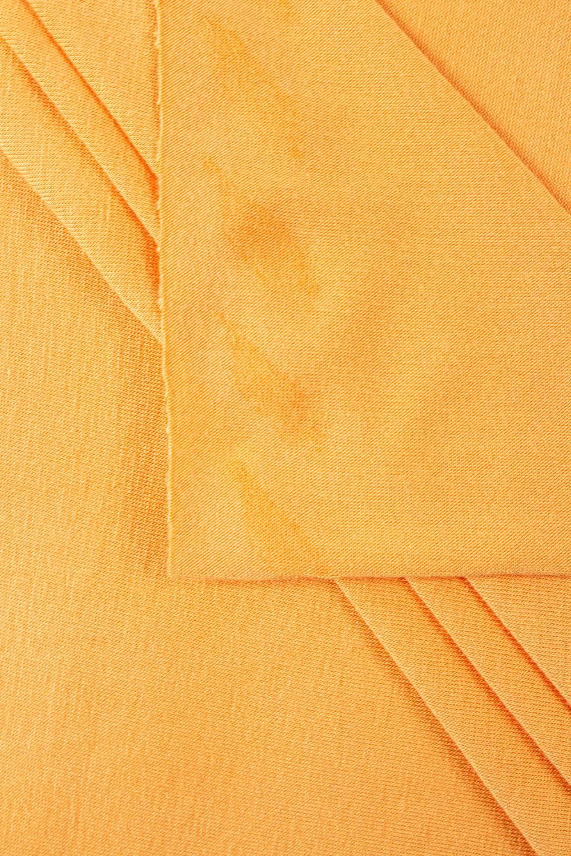 Dzianina jersey wiskozowy jasno pomarańczowy - 160cm 200g/m2