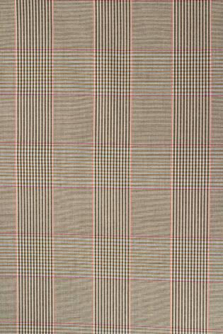 Tkanina cienka tweed w kratę - 150cm 210g/m2 thumbnail