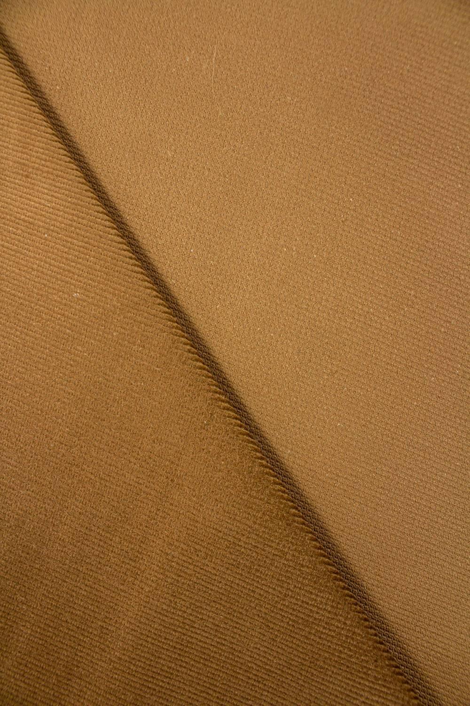 Tkanina sztruks - karmelowy - 150cm 320g/m2