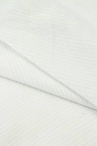 copy of Knit - Velour - White & Navy Blue Stripes - 180 cm - 260 g/m2 thumbnail