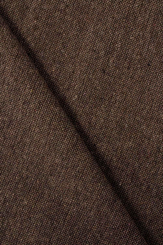 Tkanina tweed - brązowy - 150cm 250g/m2