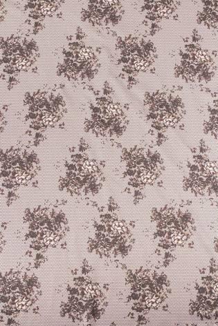Dzianina Venezia z nadrukiem bukieciki kwiatów - 175cm 150g/m2 thumbnail