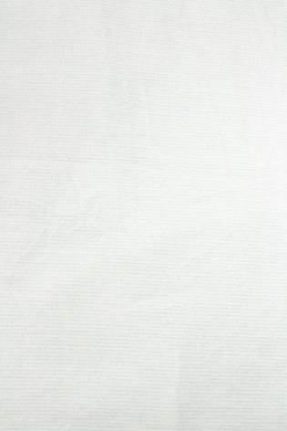 Dzianina welur biały w delikatne paski - 185cm 210g/m2 thumbnail