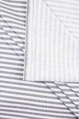 Dzianina jersey w szare paski - 170cm 150g/m2 thumbnail