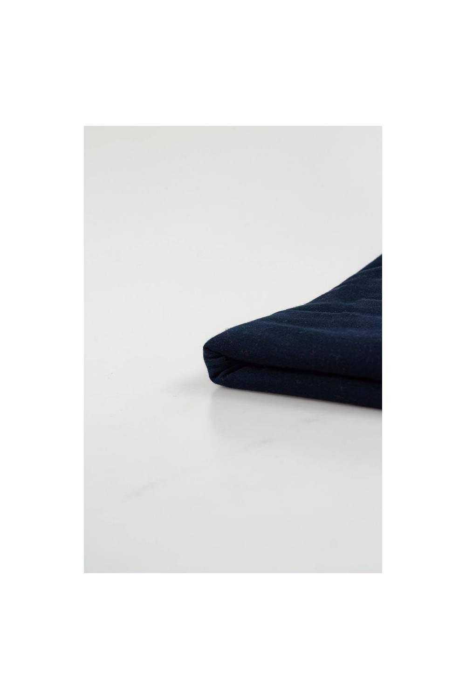 Dzianina jersey granatowy - 85cm/170cm 170g/m2
