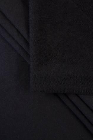 Dresówka pętelka czarny GOTS - 185cm 290g/m2 thumbnail