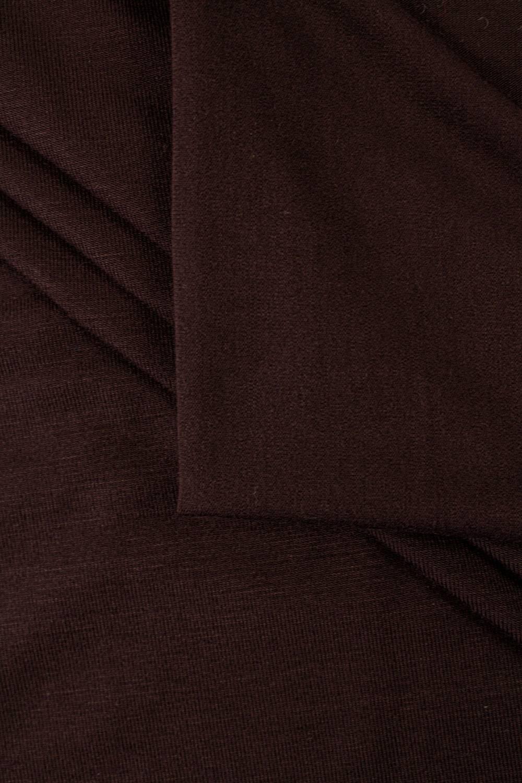 Dzianina jersey bambusowy - czekoladowy - 170cm 220g/m2